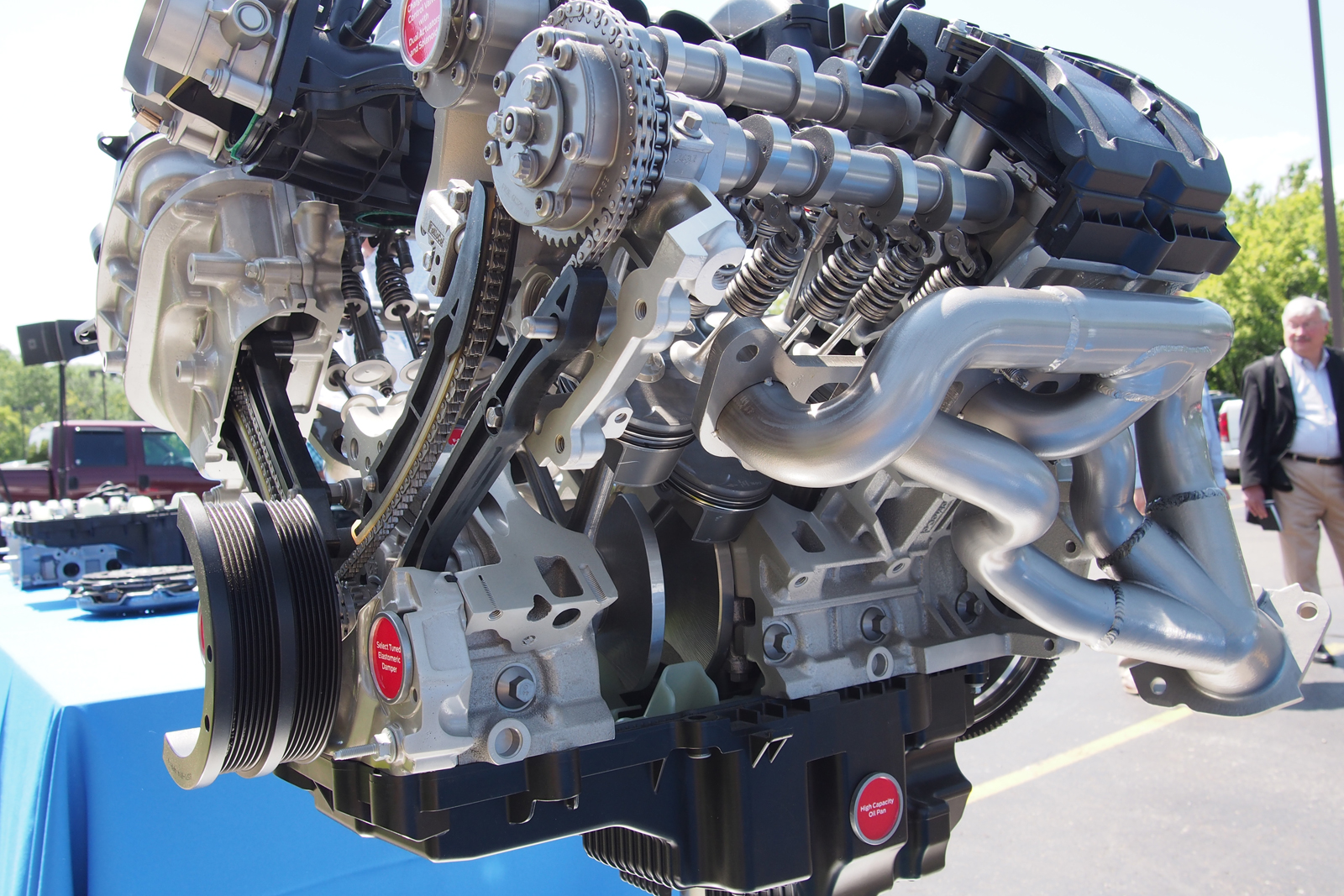 2016 ford shelby gt350 engine 08