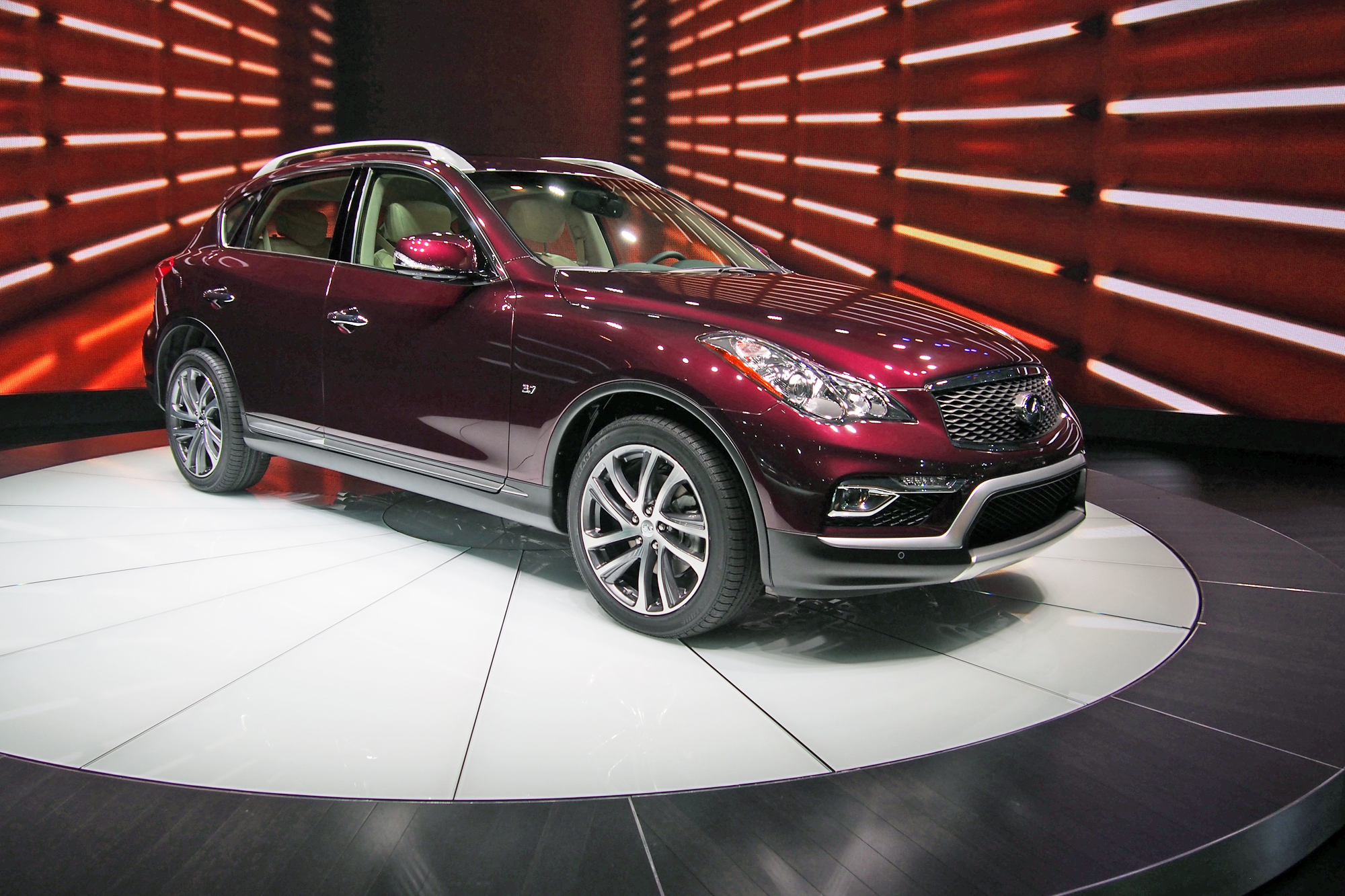 en show car auto infiniti new the york premiering articles at