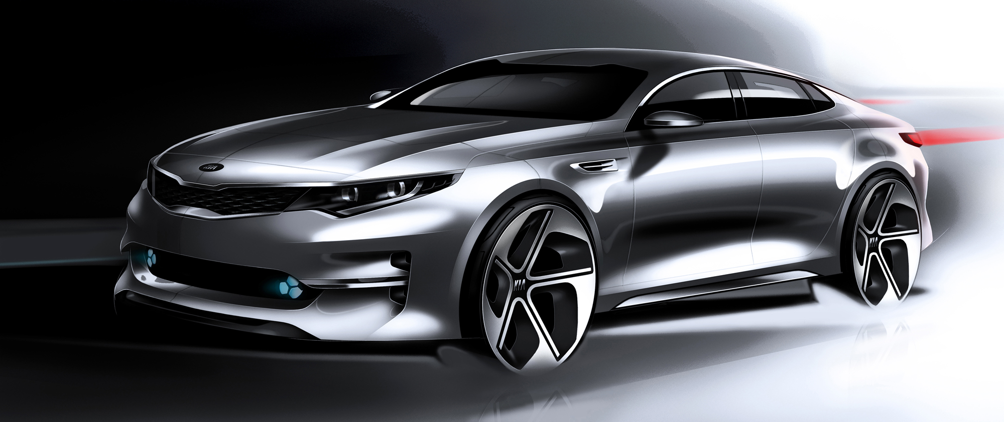 2016 kia optima previewed in wild new concept news. Black Bedroom Furniture Sets. Home Design Ideas
