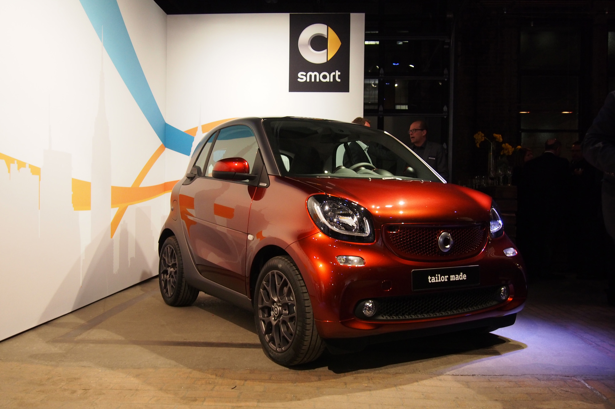 2016 smart fortwo Makes North American Debut  AutoGuidecom News