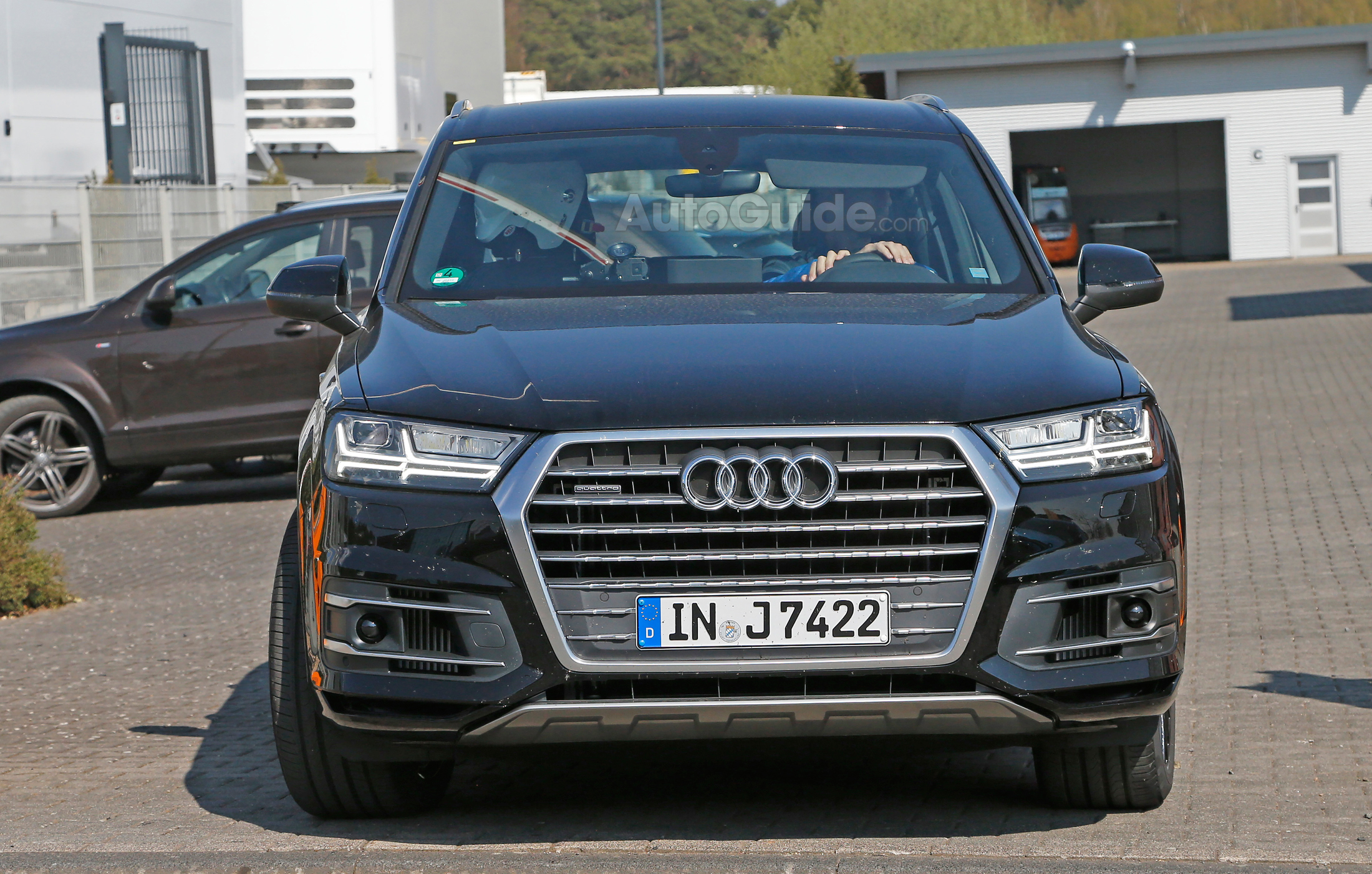2017 audi sq7 spied with tdi diesel power news. Black Bedroom Furniture Sets. Home Design Ideas