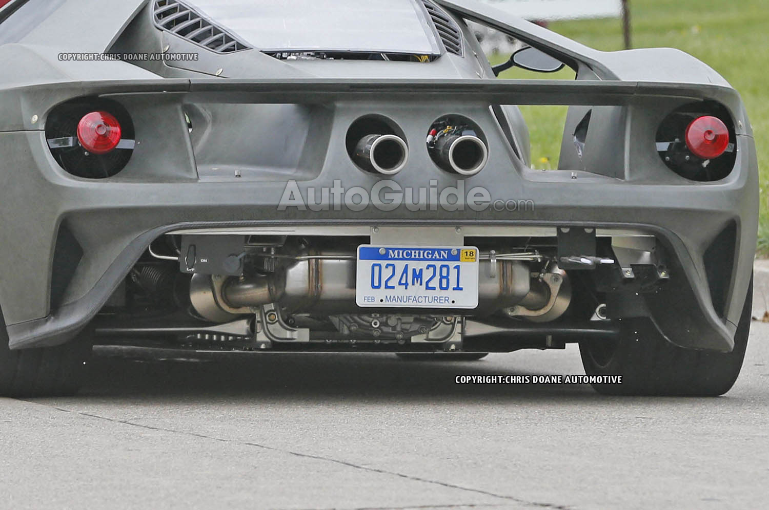 Re Ford Gt Spied