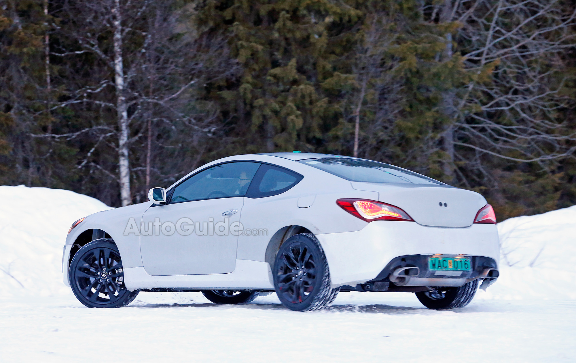 2017 Hyundai Genesis Coupe Could use 480HP TwinTurbo V6