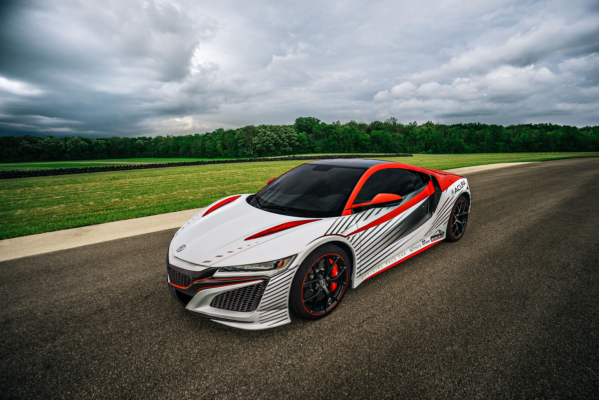 next generation nsx the 93rd pikes peak international hill climb pace car