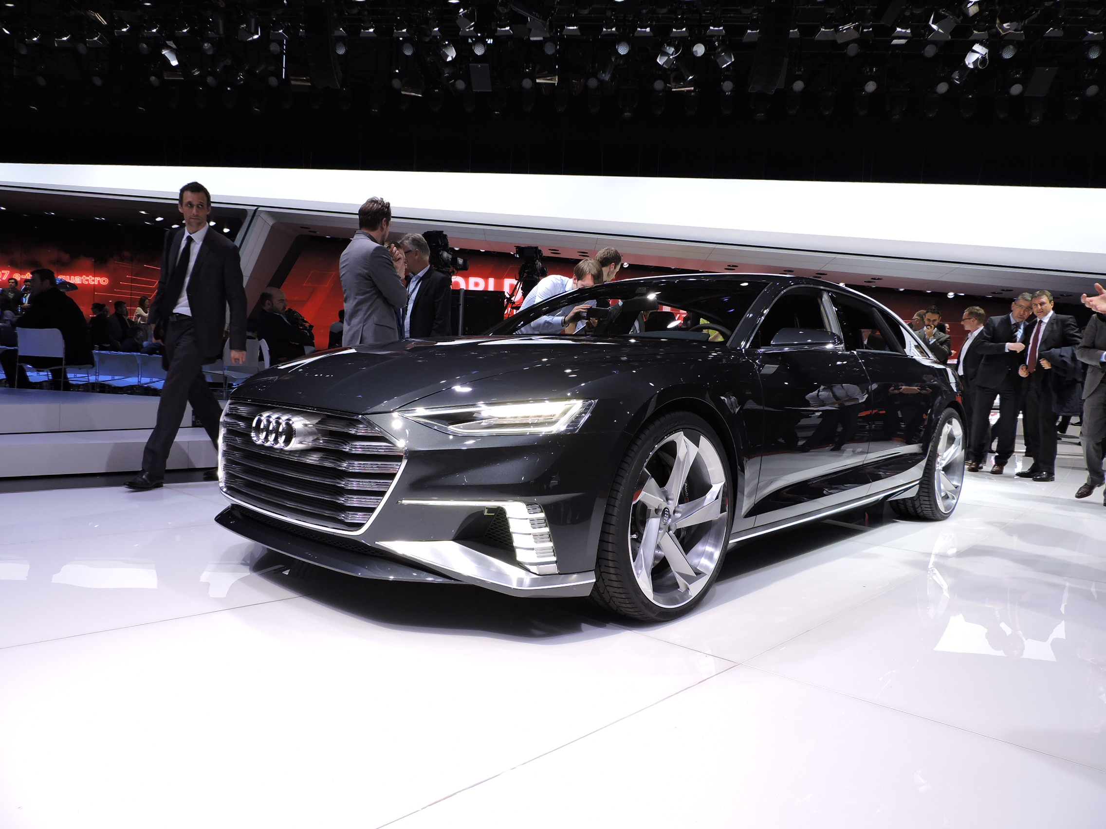 Next Audi A Will Drive Itself On The Highway AutoGuidecom News - Audi car that drives itself