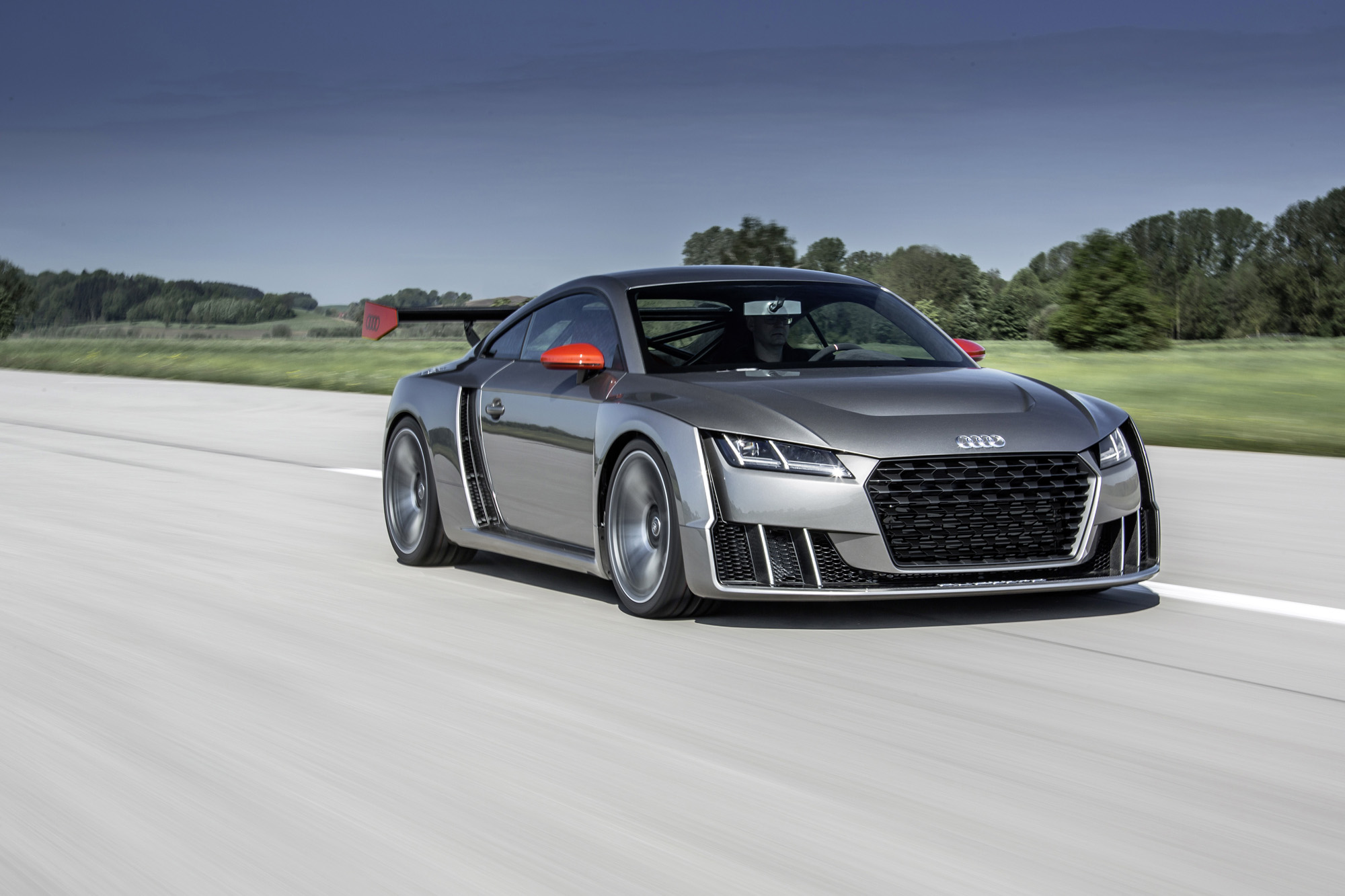 audi tt clubsport turbo concept photos mega gallery news. Black Bedroom Furniture Sets. Home Design Ideas