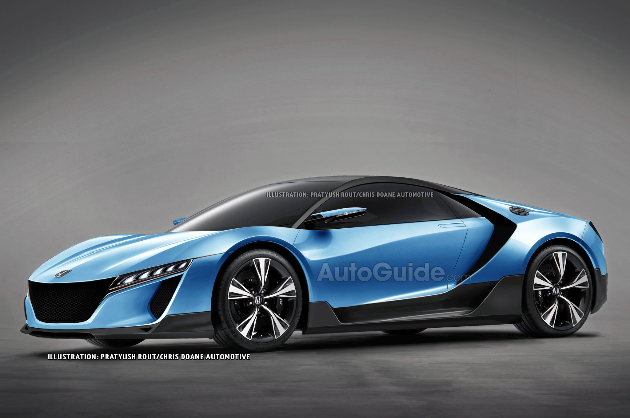 The Baby Honda Nsx Could Look Like This
