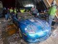 First Corvette Recovered From Sinkhole At Corvette Museum