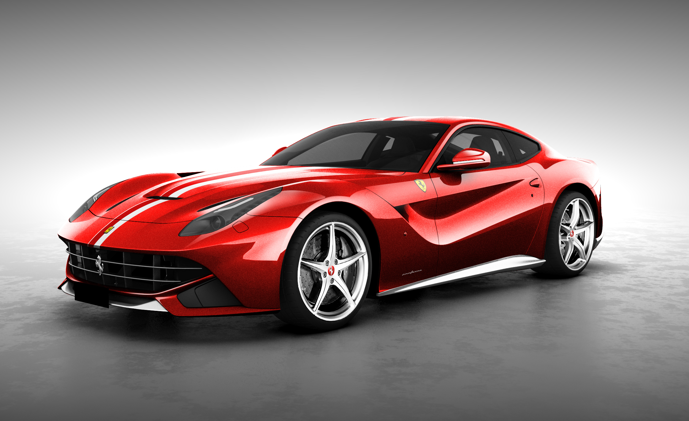 ferrari f12 berlinetta sg50 celebrates singapore's independence
