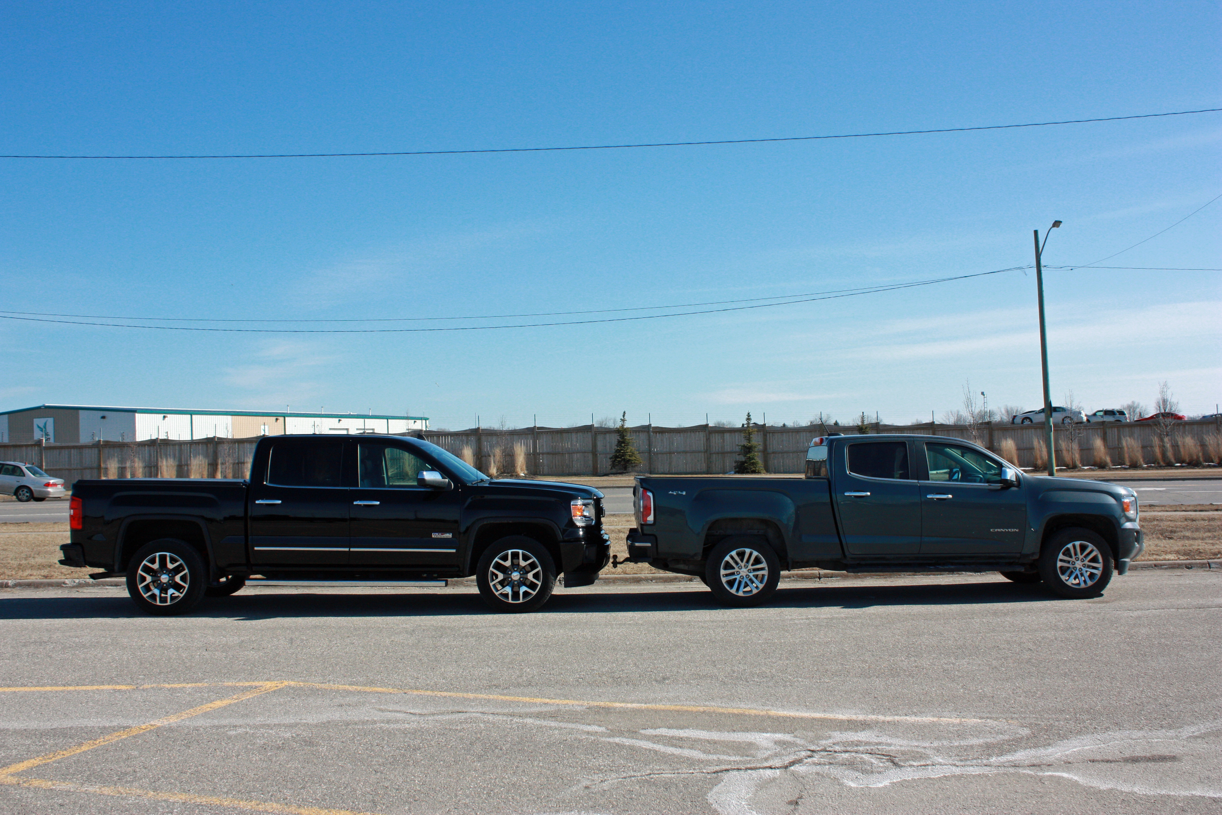 2015 gmc canyon long term review side by side with the gmc sierra