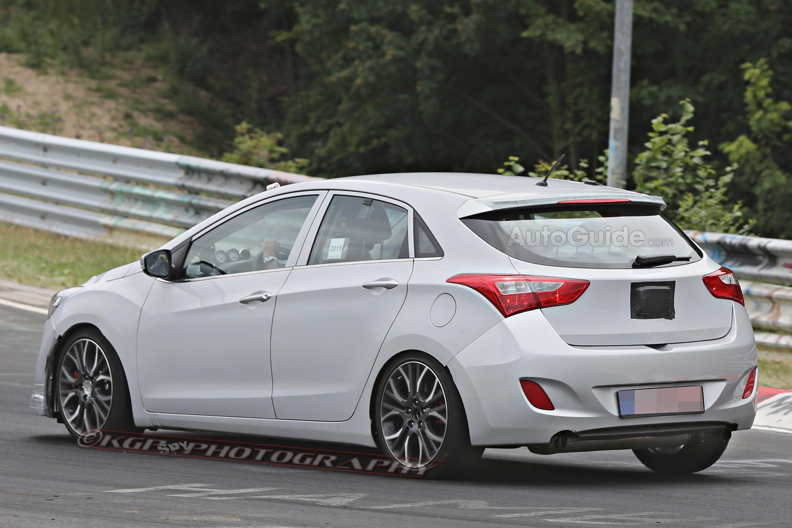 hyundai elantra gt hot hatch spy photos 15