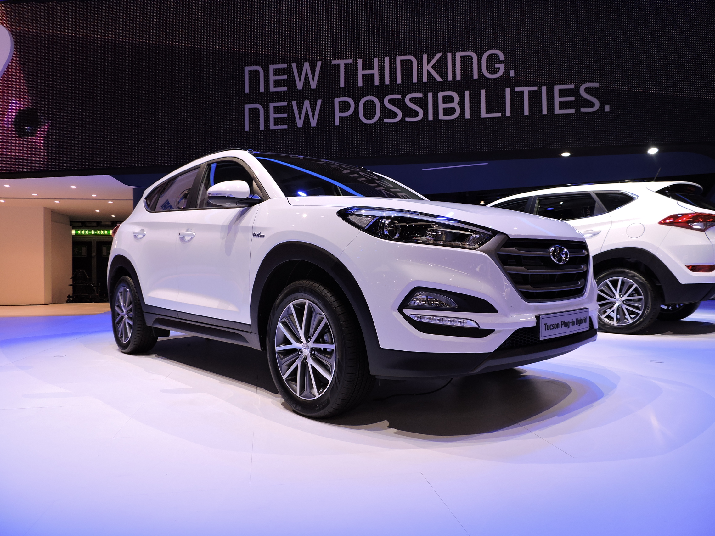 hyundai tucson hybrid previewed news. Black Bedroom Furniture Sets. Home Design Ideas
