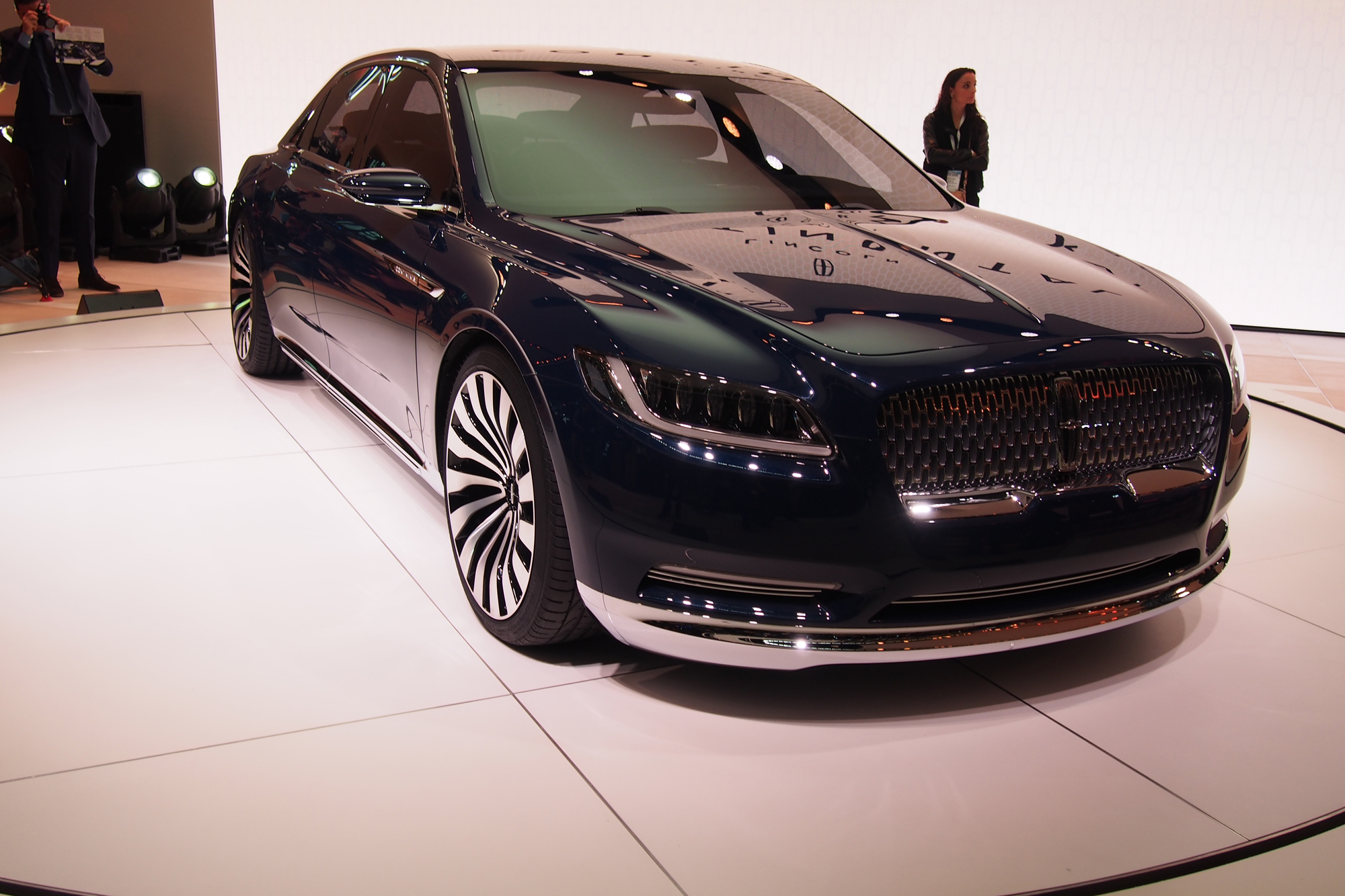Model Lincoln Continental Concept Video First Look  AutoGuide