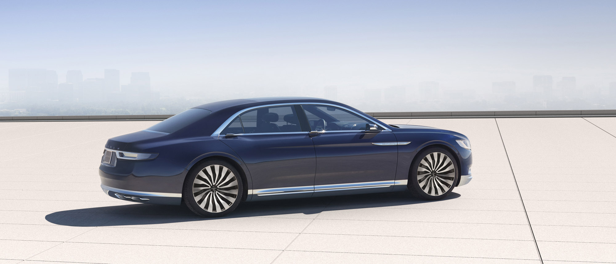 lincoln continental concept previews brand 39 s new flagship sedan news. Black Bedroom Furniture Sets. Home Design Ideas