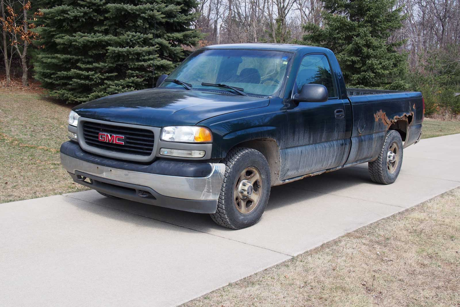 Old Trucks Never Die: Dad\'s Overworked Sierra Lives On » AutoGuide ...