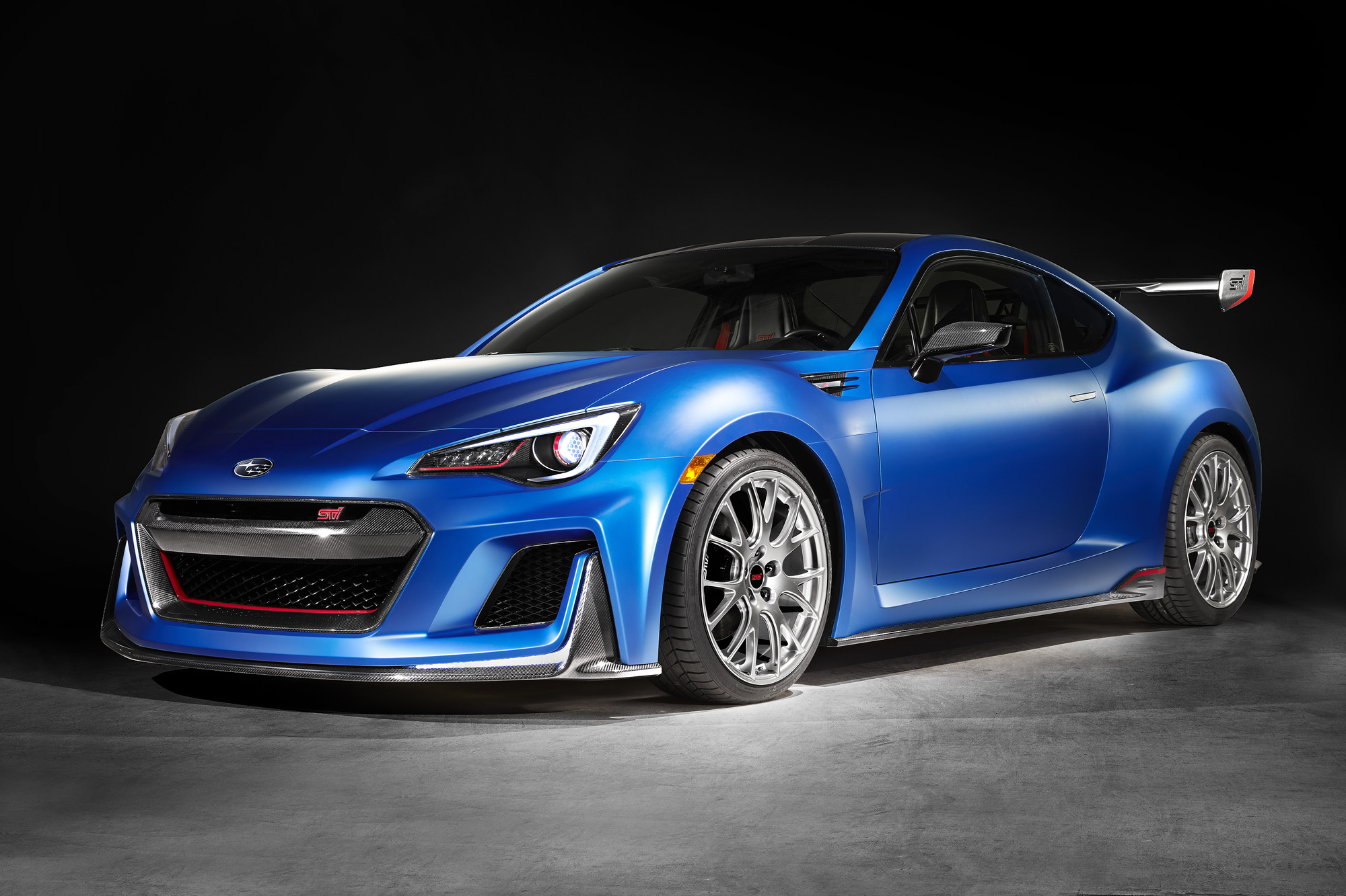 Subaru Sti Performance Concept Makes 350 Hp 187 Autoguide