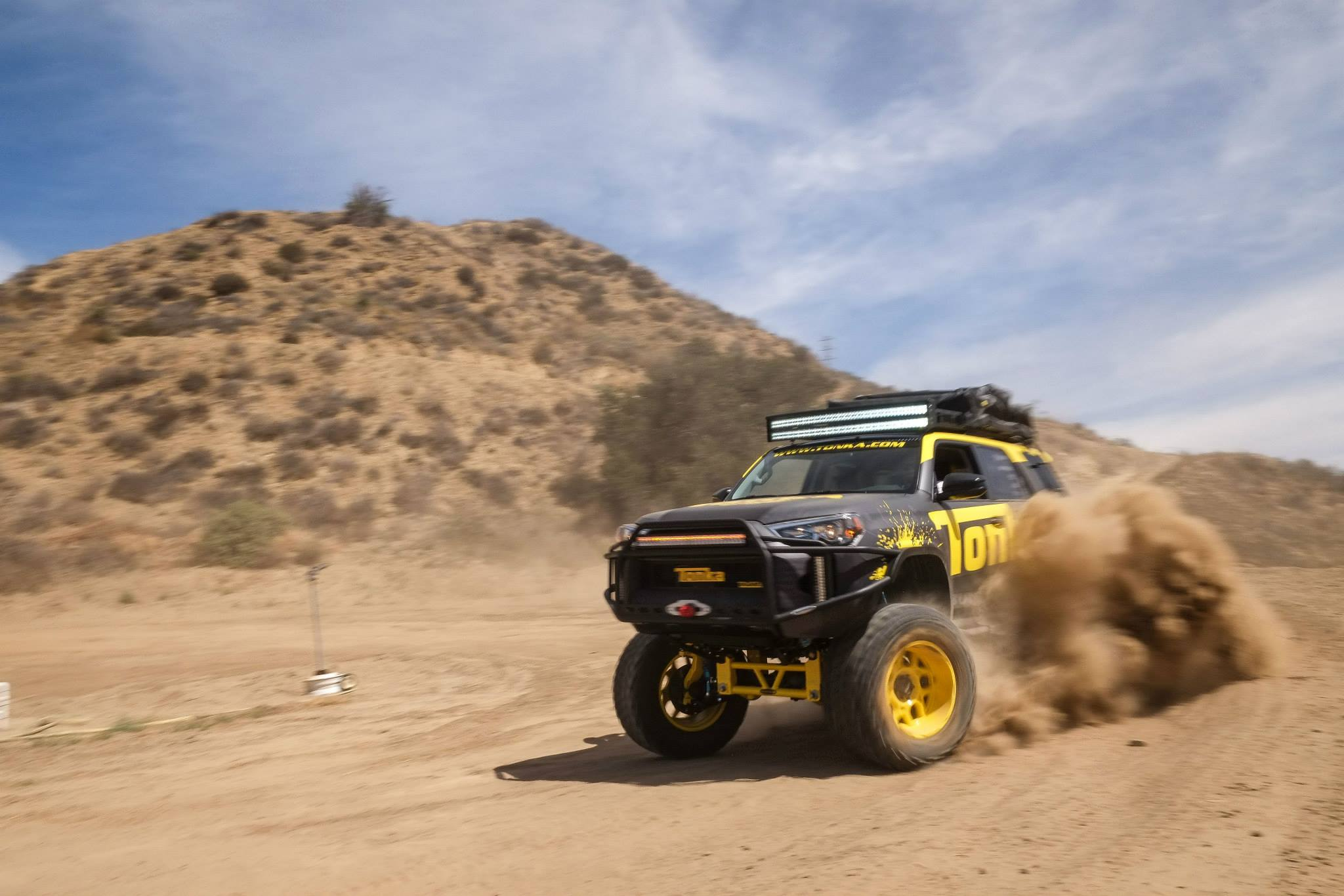 4Runner Turned Tonka Toy Requires a Big Sand Box Toyota Nation