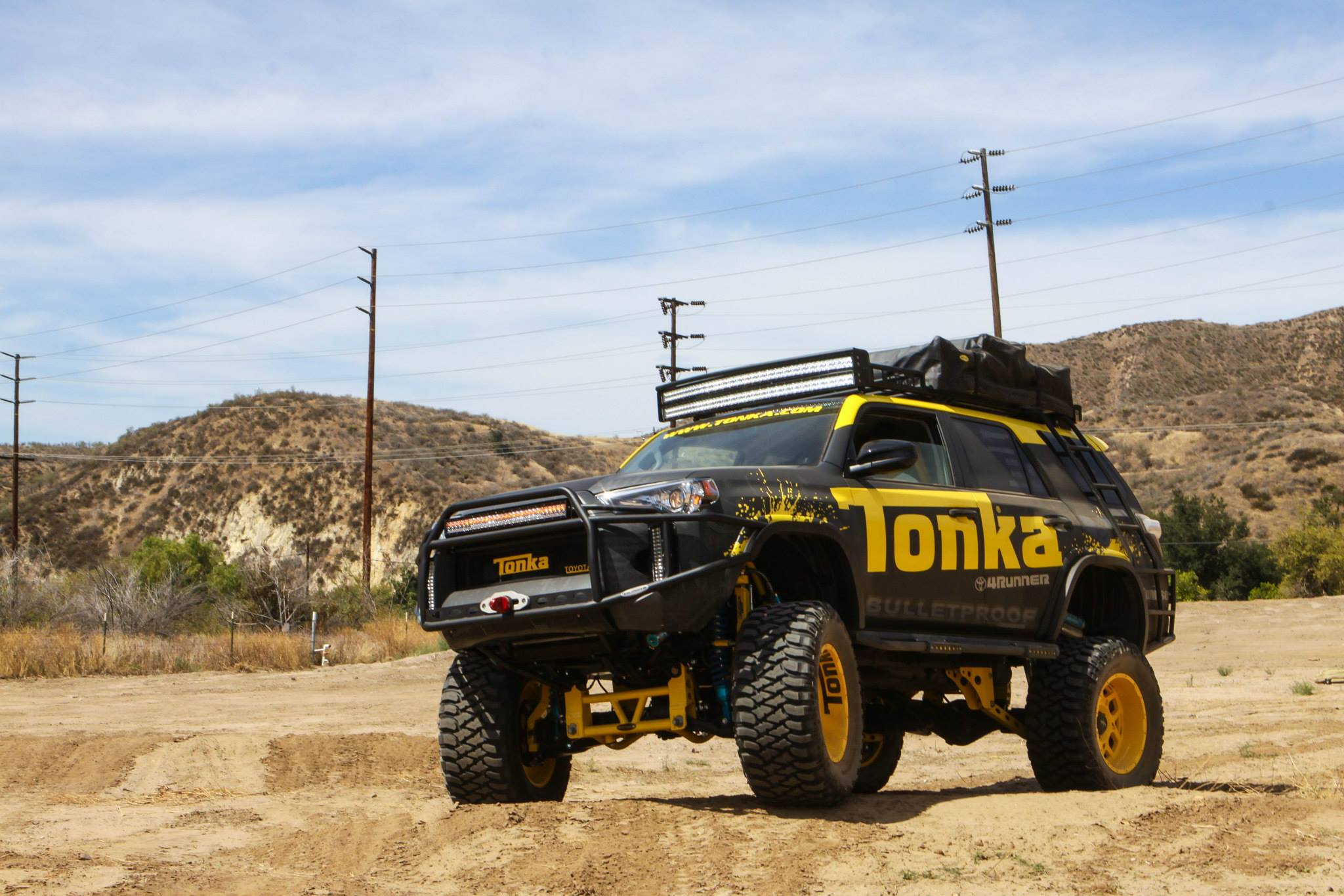Toyota 4runner Turned Tonka Toy Requires A Big Sand Box