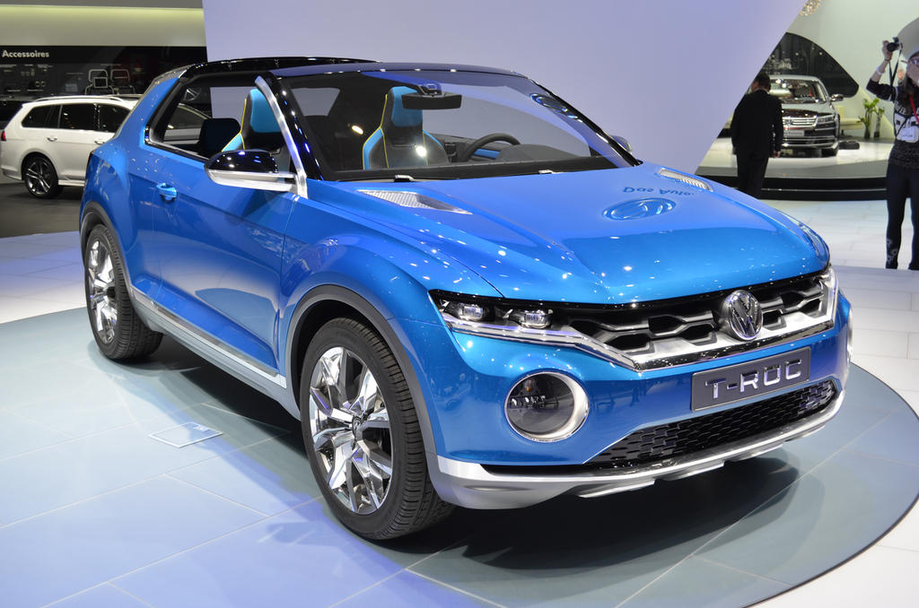 vw to launch sub tiguan crossover in 2017 news. Black Bedroom Furniture Sets. Home Design Ideas