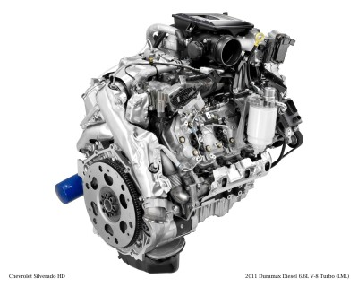 2011 Duramax Diesel 6.6L V-8 Turbo (LML) for Chevrolet Silverado