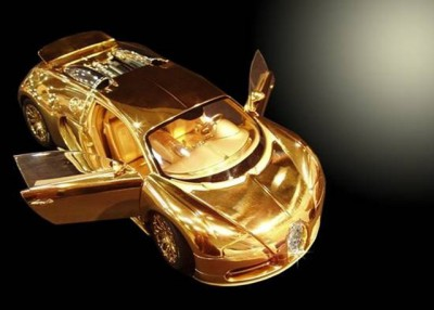 buggatti-veyron-solid-gold-model-car