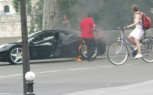 Ferrari 458 Italia Goes Up In Flames In Paris