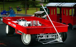 Red Radio Flyer Wagon Offers Serious Speed for Grown Ups