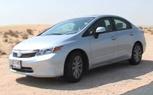 2012 Honda Civic Spied Fully Exposed While Testing in Dubai [video]