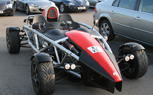 Epson Printer Races Ariel Atom Around Rockingham Circuit