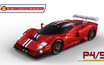Ferrari P4/5 Competizione Revealed in Final Renderings