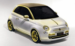 Fenice Milano Fiat 500 La Dolce Vita is Full Of Gaudy Gold-Plated Bling