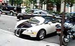 Bugatti Veyron Fender Bender Caught on Video