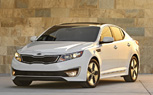 LA 2010: Kia Optima Hybrid Debuts With 40-MPG Claim