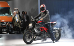 LA 2010: Ducati Diavel Initiates AMG Partnership With a Smokey Burnout [Video]
