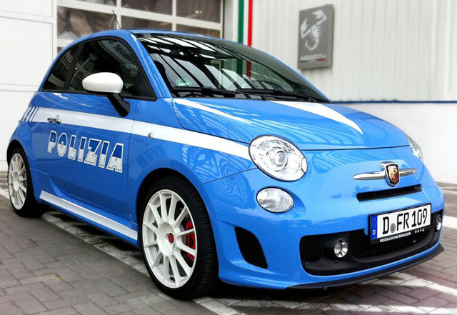 be a Fiat 500 Abarth model