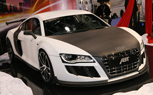 SEMA 2010: ABT Audi R8 GT-R Boasts 620-HP and a Matte-White Carbon Body [Video]