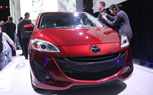 LA 2010: 2012 Mazda5 Gets New Look, Larger Engine
