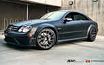 Mercedes CLK63 AMG Black Series Gets the Matte-Black Treatment