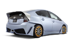 SEMA 2010: Toyota Prius C&A Custom Concept Gets Full Carbon Fiber Body