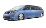 SEMA 2010: Toyota Sienna Swagger Wagon Has Family Appeal, Vegas Style