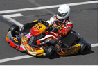 Go Kart Champion Lets Hubris Get The Best Of Him On Victory Lap (Video Inside)