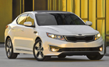 LA 2010: Kia Optima Hybrid Revealed
