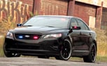 Ford Police Interceptor Stealth Concept Looking for Crimes Against Cars at SEMA