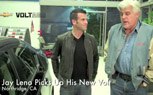Jay Leno Takes Delivery of His Chevrolet Volt [Video]