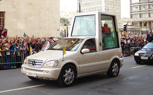 Vatican Looking To Buy a Solar-Powered Popemobile