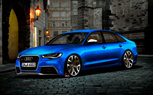 Audi RS6 Sedan: Artists Rendering