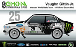 Vaughn Gittin Jr. to Pilot 1978 Ford Escort Mk2 at Gymkhana Grid