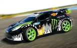 Ken Block Ford Fiesta Gymkhanna RC Car Ready to Race [Video]