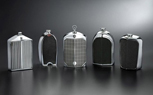 Designer Flasks Styled After Classic Car Grilles