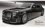 Wald International Gives Rolls-Royce Phantom EWB the 'Black Bison' Treatment